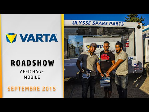 Brand Activation VARTA Tunisia 2015