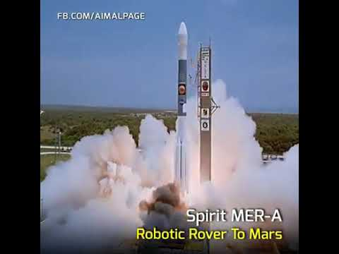 earth to mangal rocket launching