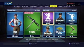 *NEW* FORTNITE ITEM SHOP COUNTDOWN! January 6th - New Skins (Fortnite Battle Royale)