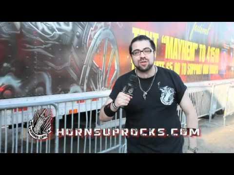 Highlights Video of the Rockstar Mayhem Festival in Hartford Connecticut!