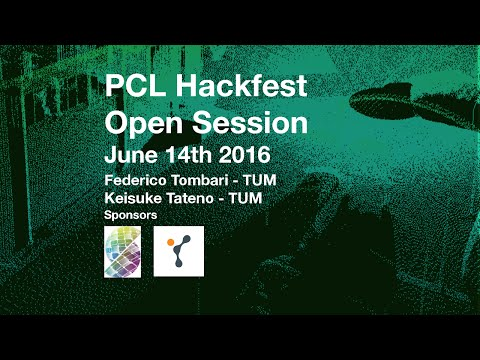 3D Perception from SLAM by Federico Tombari and Keisuke Tateno @ PCL Hackfest June 2016