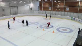 2012 Winter Youth Olympic Games - Ice Hockey Skills Challenge #3: Skating Agility