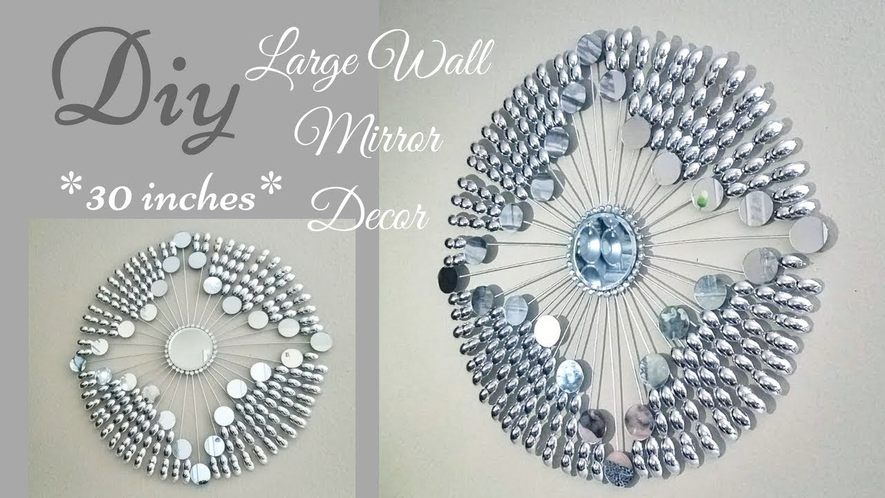 Diy Large Decorative Wall Mirror Decor 30 Inches Quick