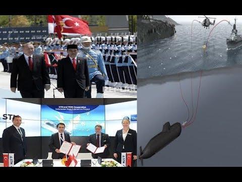 Terkini ! Turki dan Jerman Gandeng Indonesia Untuk Pembuatan Kapal Selam Canggih