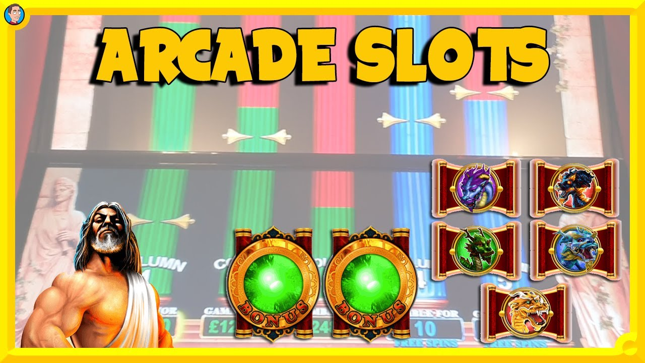 Arcade Slots: Dragon Spin Pick n Mix with POT Bonuses, plus Rocky & Kronos