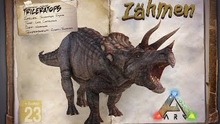 ARK: Survival Evolved Guide: Triceratops zähmen für Anfänger! Er is...