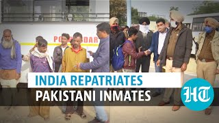 Watch: India sends Pakistani prisoners back via Attari-Wagah border