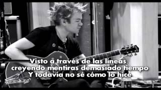 Deryck Whibley (Sum 41) - Blood in my eyes (Subtitulada en Español) (Acoustic)