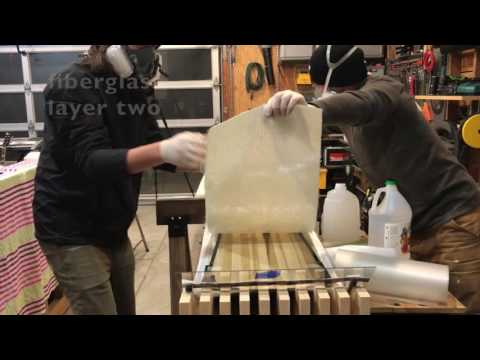 Making a Snowboard With a Vacuum Press - I've updated this video as #2