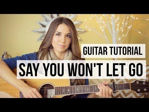 Say You Won't Let Go - James Arthur // Easy Guitar Tutorial