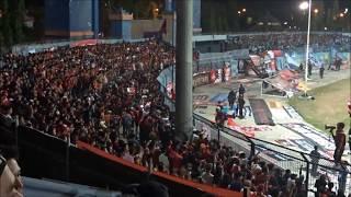 Aksi JAKMANIA di Stadion Surajaya Lamongan   Persela vs Persija   LIGA 1 2018  