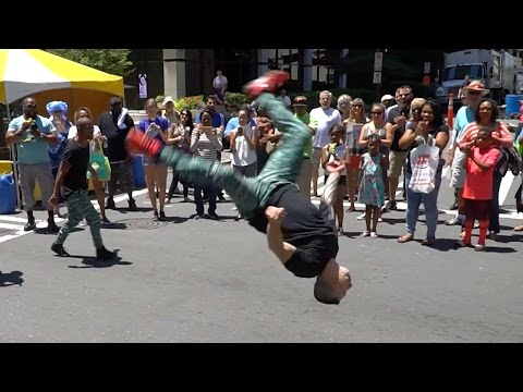 Taste of Charlotte - Food, Music, and Crazy Street Performers