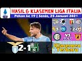 Hasil Liga Italia Tadi Malam ~ Hasil Lazio vs Sassuolo ~ Klasemen Serie A Pekan 19 2021