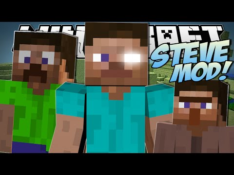 minecraft-|-steve-mod-(creeper-steve,-killer-steves-&-more!)-|-mod-showcase