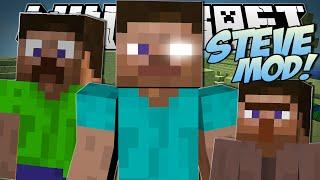 Minecraft | STEVE MOD (Creeper Steve, Killer Steves & More!) | Mod Showcase