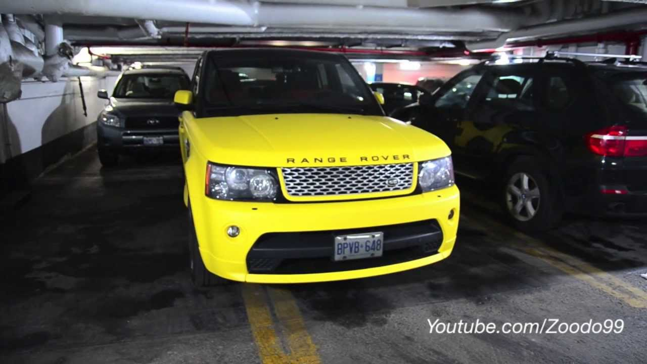 Matte Yellow Range Rover Autobiography Edition Restyleit