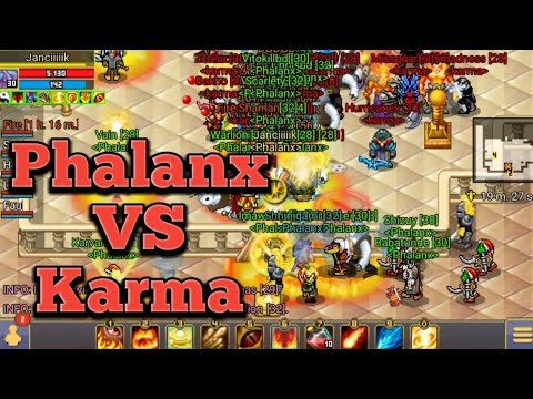 Warspear Online • Phalanx VS Karma, Castle.