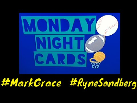 MNC #103 (Mark Grace and Ryne Sandberg PC Cards Binder Showcase)