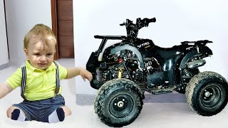 Funny Kids and funny stories with Toys