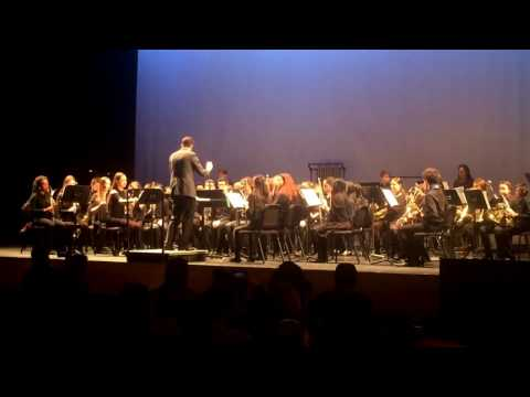 Prairie Dances Mark Twain Concert Band at Festival of Winds at Columbia University 2017