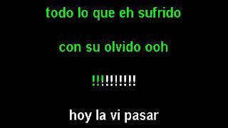 Kiko Rodriguez-Hoy La Vi Pasar(by Wentertainment karaoke).avi
