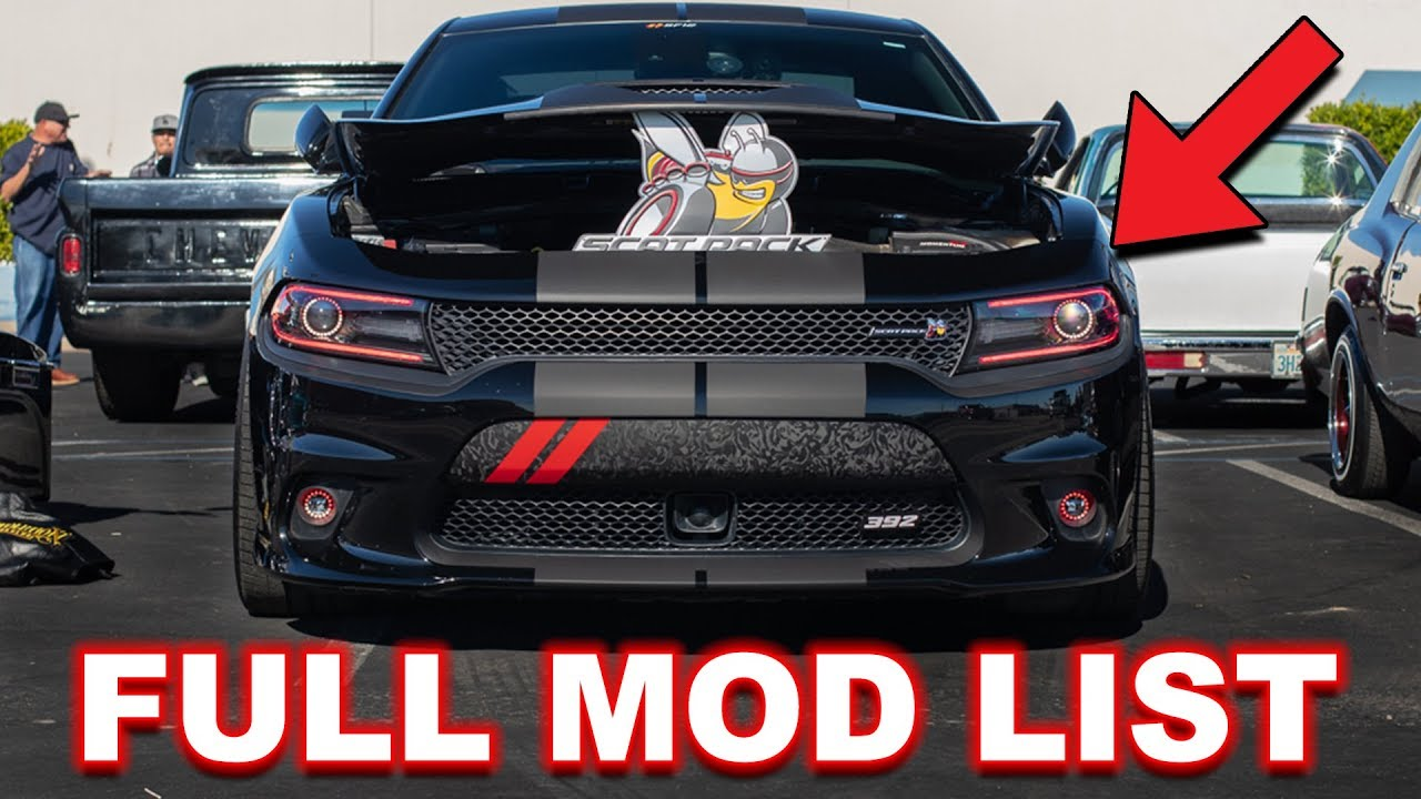 dodge charger scat pack mods EVERY MOD ON MY SCAT PACK CHARGER!