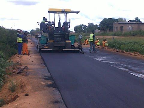 Bitumen road construction in india