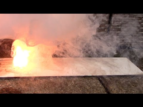 Pyro Chemicals in Slowmotion : German Powder (HQ ViscoFuse)
