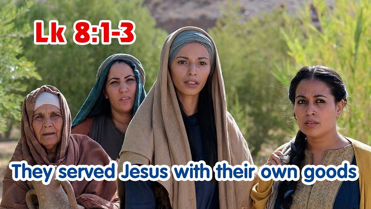 Gospel Reflection - Lk 8:1-3 | The Women Disciples | Friday, Week 24 in  Ordinary Time - YouTube