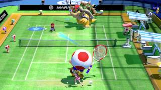 Mario Tennis: Ultra Smash - Direct Feed Gameplay (1080p 60fps - E3 2015)