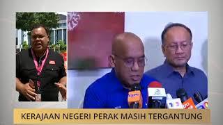 Kerajaan Negeri Perak masih tergantung