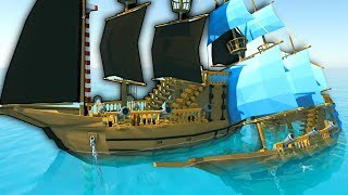 PIRATE SHIP BATTLE! - Ylands Multiplayer Gameplay - Free To Play Release!