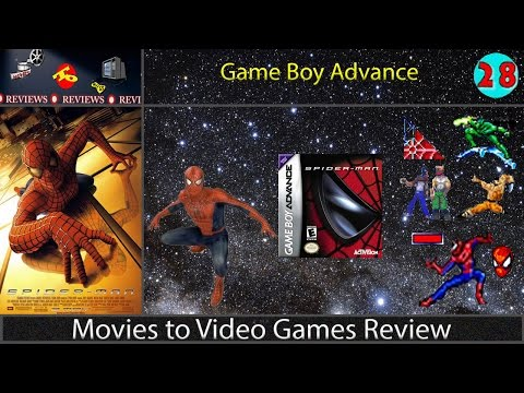 Movies to Video Games Review -- Spider-Man (Game Boy Advance)