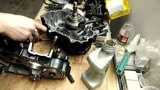 Сборка двигателя SK166FMM ч.1.