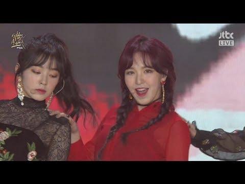 180110 GDA Red Velvet(레드벨벳) - Rookie(루키) + Red Flavor(빨간 맛)