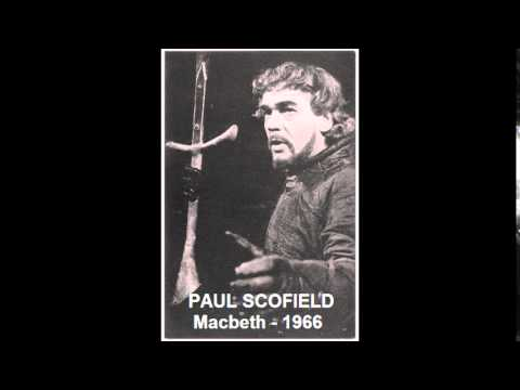 """Macbeth"", with Paul Scofield - 1966 - BBC Radio"