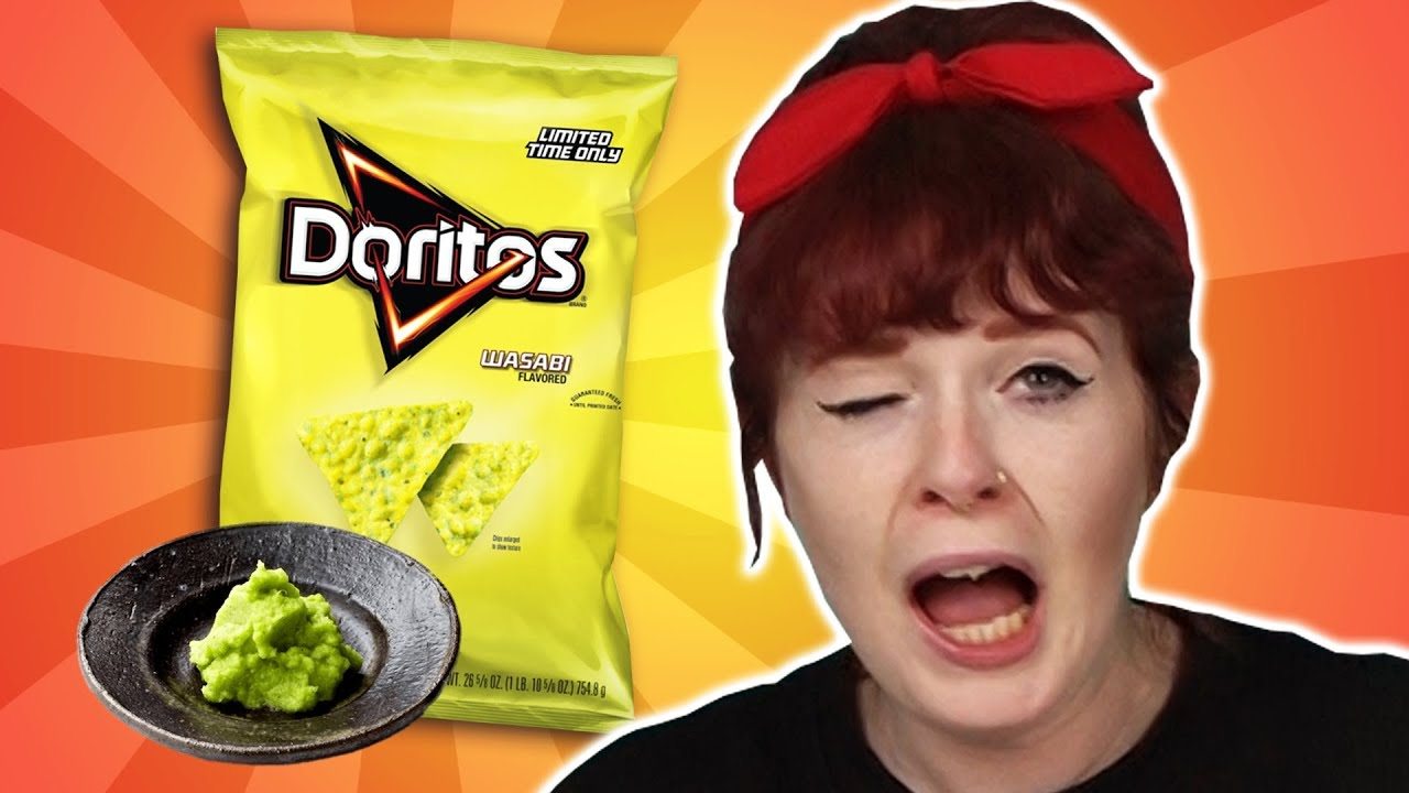 Irish People Try Doritos From Around The World