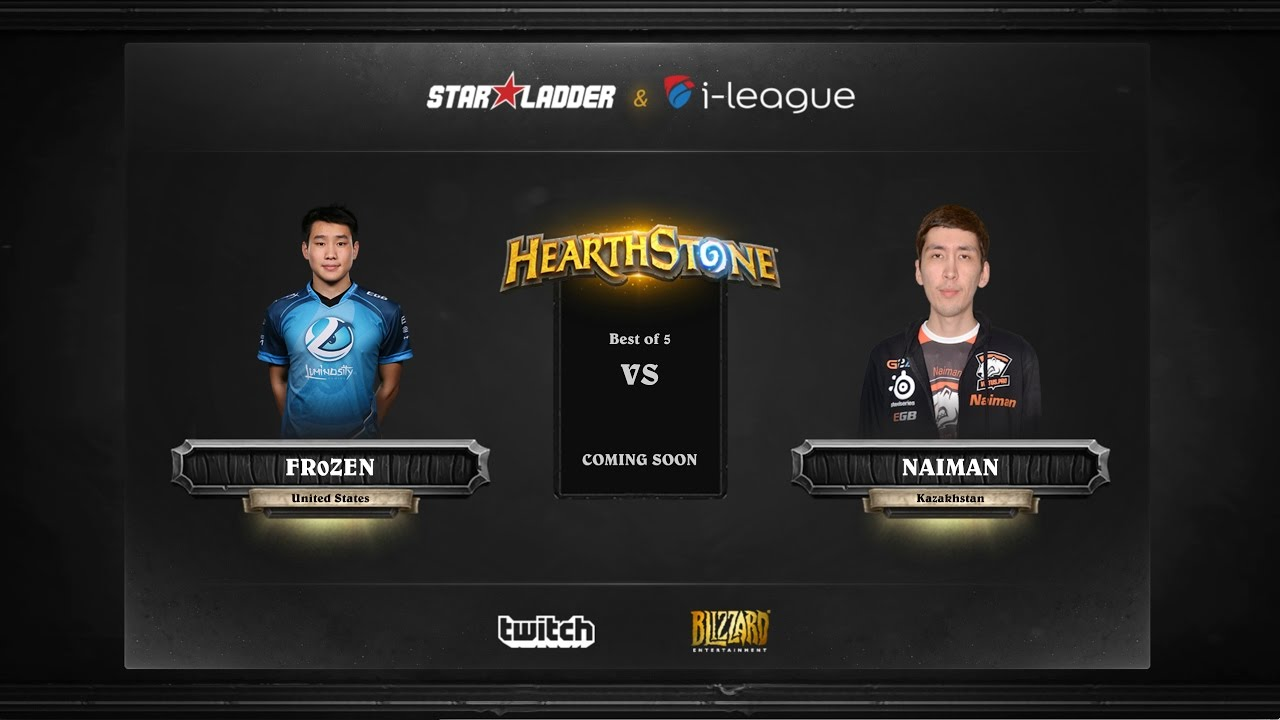 [RU] Fr0zen vs Naiman | SL i-League Hearthstone StarSeries Season 3 (12.05.2017)