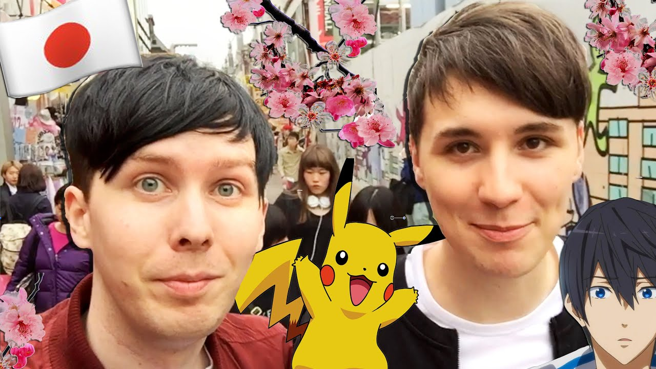 A Day In The Life Of Dan And Phil JAPAN
