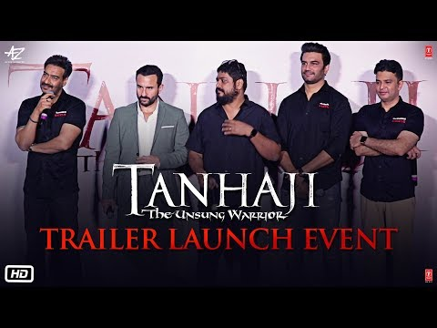 Tanhaji: The Unsung Warrior - Trailer Launch Event | Ajay D, Saif Ali K | Om R | 10 Jan 2020