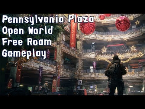 Tom Clancy's The Division - Pennsylvania Plaza - Open World Free Roam Gameplay (PC HD) [1080p60FPS]