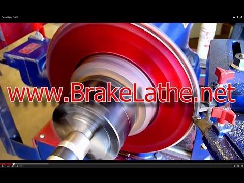 AMMCO Brake Lathe - Turning Rotors Fast !!!