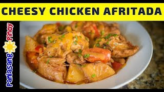 Cheesy Chicken Afritada