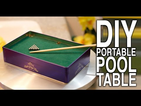how to make mini pool table diyindian - How To Make A Pool Table