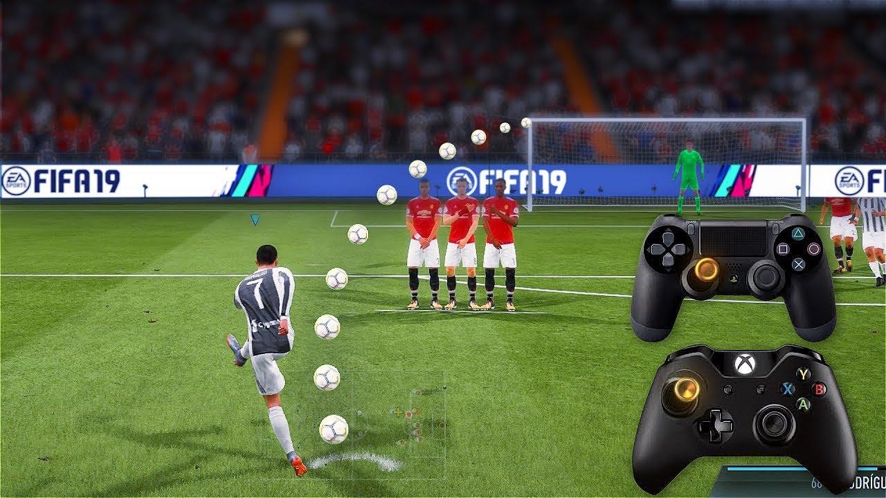 FIFA Free kick tutorial - fifaaddiction com