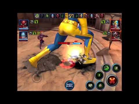 Marvel Future Fight - Dr Octopus spider skin (Battleworld's performance)