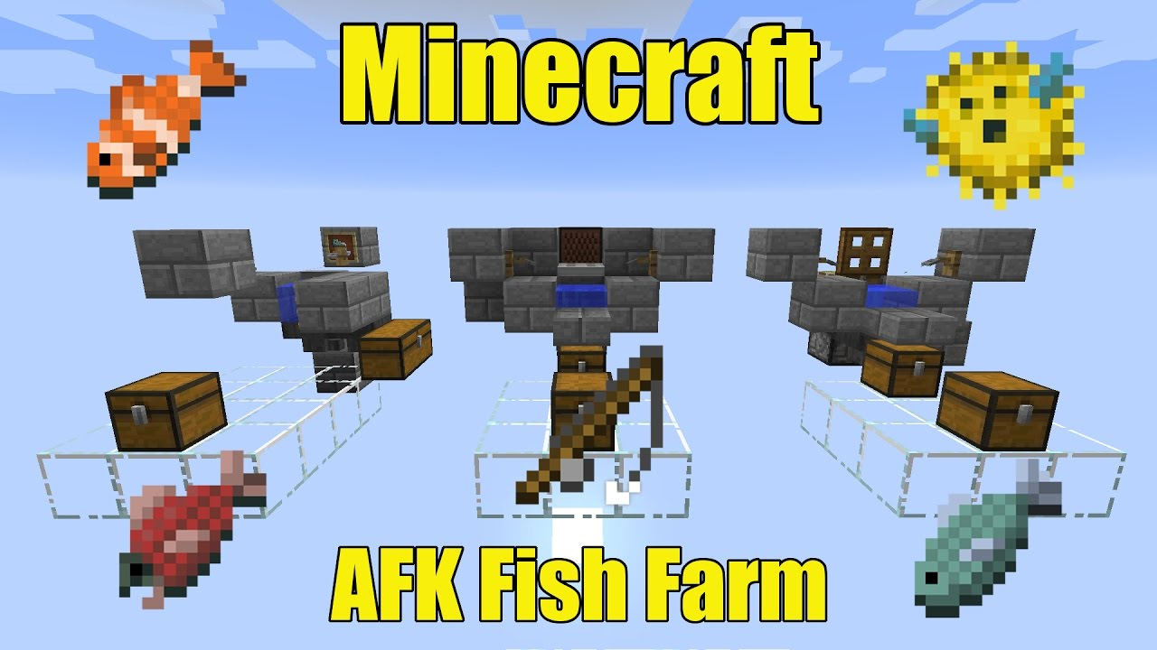 How To Build Fish Farm In Minecraft