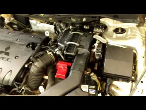 Mitsubishi lancer ABS fault ESP fault codes low power supply