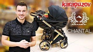 Adamex Chantal - видео обзор детской коляски 2 в 1. Новинка 2019 - коляска Адамекс Шанталь.