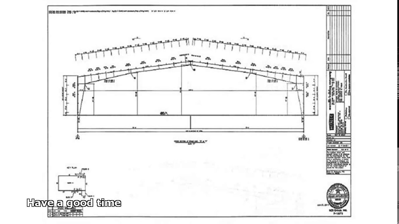 Steel building plans youtube for Metal building plans and prices